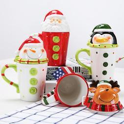 Christmas Ceramic Tea <font><b>Mugs</b></font> 350 Ml Funny