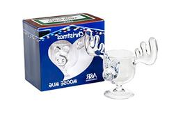CHRISTMAS Eggnog Moose Mug - SINGLE Mug, Gift Boxed - Safer