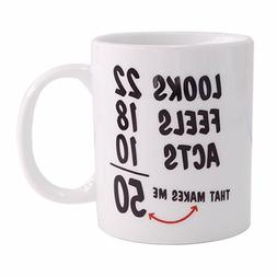Christmas Gifts 1968 50th Birthday Gifts Coffee Cups for Men