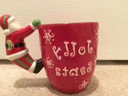 Christmas Holiday Home Decor Santa Coffee Tea Mug Kitchen Gi