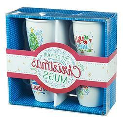Christmas Mug Set - Season of Joy in Assorted Designs, Set o