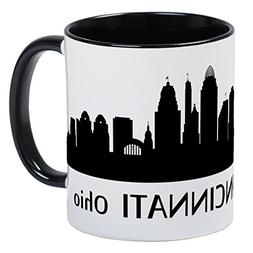 CafePress - Cincinnati Cityscape Skyline Mugs - Unique Coffe
