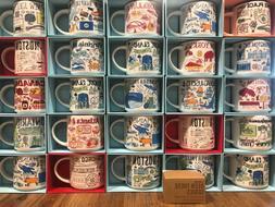 Starbucks City Coffee Mug BEEN THERE SERIES BTS Ornament Col