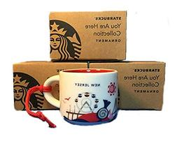 Starbucks City Mug New Jersey You Are Here Ornament 2oz 2016