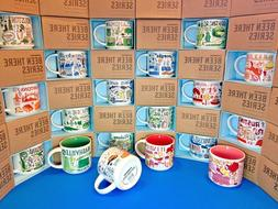 STARBUCKS City Mugs - BEEN THERE SERIES - **NEW WITH TAG** c