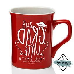 Class of 2018 Personalized Coffee Mug College / High School