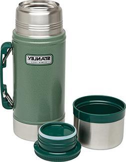 Stanley Classic Vacuum Food Jar 24oz Hammertone Green