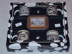 CLASSICAL COWS COFFEE COCOA MUGS CUPS TRAY GIFT SET SHERWOOD