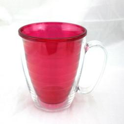 Tervis Clear & Colorful Ruby 16 oz Mug NEW