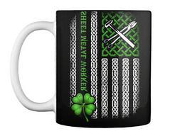 Clover Flag Sheet Metal Worker Gift Coffee Mug