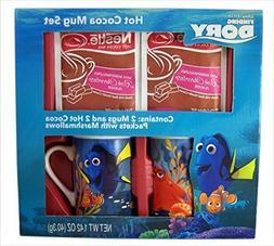 Hot Cocoa Character Mug Holiday Gift Set with Nestle Cocoa P