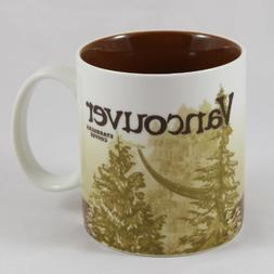 Starbucks Coffee 2009 Collector Series Vancouver Mug 16 fl o