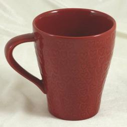 Starbucks Coffee 2009 Design House Stockholm Red Hearts Mug