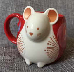 STARBUCKS COFFEE 2020 Chinese New Year of The MOUSE RAT CERA
