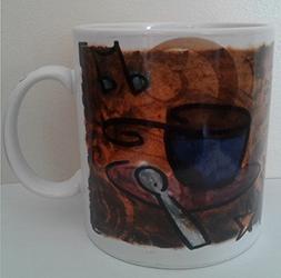 STARBUCKS COFFEE BREAK ESSENTIALS MUG 1998 20 OZ