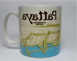 New Starbucks Coffee Cup City Collector Series Pattaya Thail