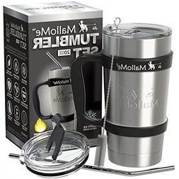 Travel Coffee Cup Mug Tumbler - 20 oz - Stainless Steel Vacu