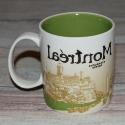 STARBUCKS Coffee Global Icon MONTREAL CANADA 2012 Mug **RETI