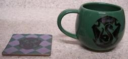 Coffee Mug Entertainment Harry Potter Slytherin Crest NEW 12