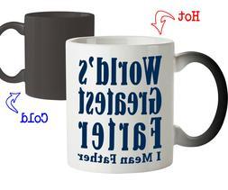 Coffee Mug Gift for Dad World's Greatest Farter Funny Birthd