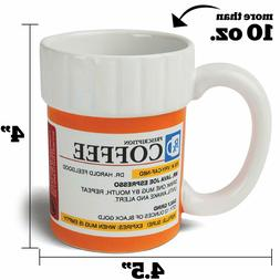 COFFEE MUG - Rx Prescription Kitchen Cup - Coffee Java Freak