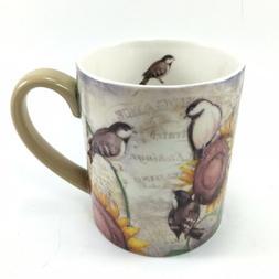 Lang Coffee Mug Susan Winget Sunflower Birds Cup