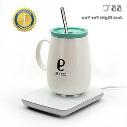 Ralyss Coffee Mug Warmer, Electric Cup Beverage Warmer for D