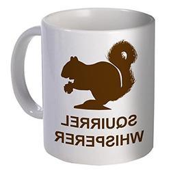 Willcallyou Coffee Mug, Squirrel Whisperer, 11 oz