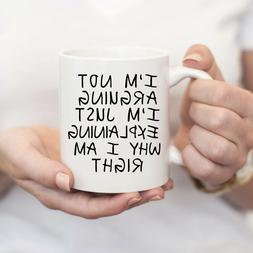 Coffee Mugs With Funny Sayings - Birthday Gift For Men - Cof