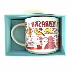 "Starbucks Coffee NEBRASKA Mug:  ""Been There Series"" Across T"