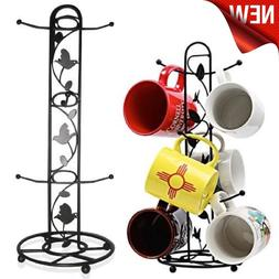 Coffee Tea Mugs Tree Storage Holder Cup Rack Organizer Kitch