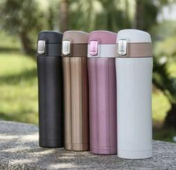Thermos Coffee Travel Mug Tea Stainless Steel Vacuum Flask W