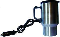 Coffee Travel Mug Thermos Stainless Steel, 12 Volt Heated wi