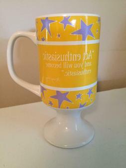 "Collectible Mary Kay Coffee Cup Mug ""Act Enthusiastic"""