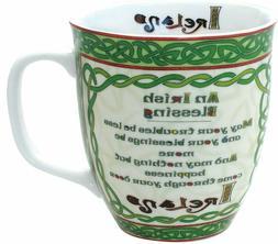 Celtic Collection Irish Blessing Mug Ireland Tea Coffee Gree