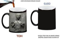 Cool Carbonite Print Magic Color Changing Ceramic Coffee Mug