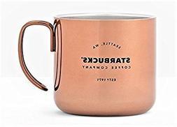 Copper Starbucks Coffee Company Handle Mug 12 Oz.
