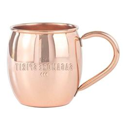 Sagamore Spirit Copper Moscow Mule Barrel Mug - 16 oz. - FRE