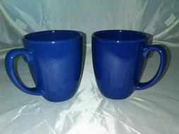 CORNING CORELLE - STONEWARE DARK BLUE - 12 OZ. CLASSIC COFFE