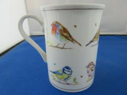 COUNTRY BIRDS FINE  CHINA 10 oz mug from LESSER & PAVEY FREE