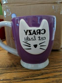 Crazy Cat Lady  Dishwasher Microwave Safe Coffee Mug 18 ounc