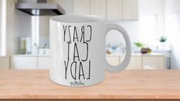 Crazy Cat Lady Mug Cute Funny Unique Gift Idea For Cat Mom L