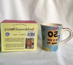 Tumbleweed Pottery Cup 50th Birthday Mug