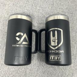 "YETI Custom ""Archery Country"" 24 oz Rambler Mug, Black -"