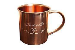 Custom Engraved Copper Moscow Mule Mug - 100% Pure Heady Gau