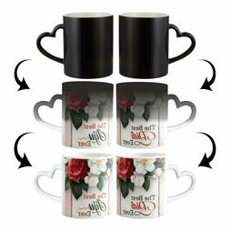 Custom Magic Coffee Cup Personalized Image Photo Text Color
