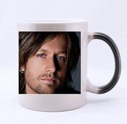 Custom Morphing Mugs Keith Urban Milk Hot Cold Heat Sensitiv