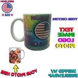 Custom Mug Personalized Custom Photo Text Logo Name Coffee M