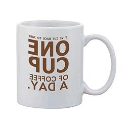Artsbaba Custom White Mug - Personalized Monogram Your Text
