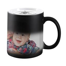 Customized Color Changing Mug Gift--Heat Changing Coffee Cup